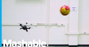 This Drone Can Dodge Anything You Throw at It