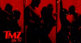Tiffany Haddish Makes Out with Common in Steamy #SilhouetteChallenge   TMZ TV