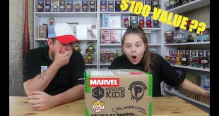 Unboxing A 6x Funko Pop Marvel Mystery Box From Popcultcha - Guaranteed $100 Value - UK