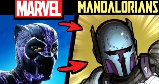 What if MARVEL CHARACTERS Were MANDALORIANS?! P2 (Lore & Speedpaint)