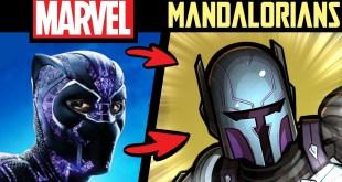 What if MARVEL CHARACTERS Were MANDALORIANS?! P2 (Lore & Speedpaint)