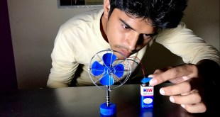 How to Make a Fan at Home | DC Motor Fan Making