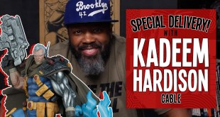 Kadeem Hardison Unboxes The Cable Premium Format Figure by Sideshow | Special Delivery!