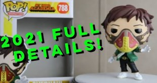 My Hero Academia Funko Pop Wave 4 - All 2021 Details