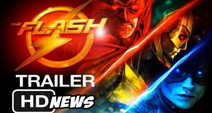 The Flash Movie Trailer news (2022) HD -  Ezra Miller, DC Comics