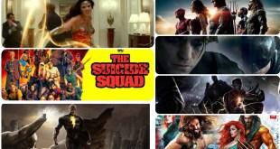Upcoming DC superheroes movies 2021- 2022