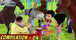 VIR: The Robot Boy Cartoon in Hindi | Compilation 04 | Hindi Cartoons for Kids | Wow Kidz Action