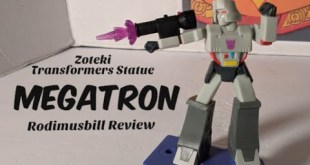 Zoteki Transformers MEGATRON Statue by Jazwares (Connect and Create) - Rodimusbill Review
