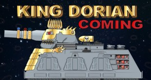 """""""King Dorian goes to king Winger"""" - Cartoons about tanks"""