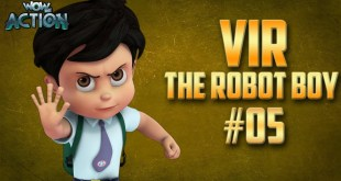 Vir: The Robot Boy | Hindi Cartoon Compilation For Kids | Compilation 05 | WowKidz Action