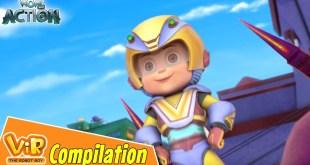 Vir The Robot Boy | Non Stop Action | Cartoon For Kids | Compilation 04