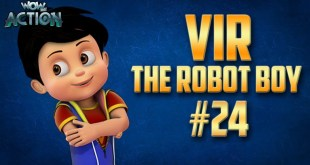 Vir: The Robot Boy | Hindi Cartoon Compilation For Kids | Compilation 24 | WowKidz Action