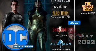 DC Movies Slated Through 2022, WW84 Trailer, and Zack Snyder Releases Black Superman Photo!