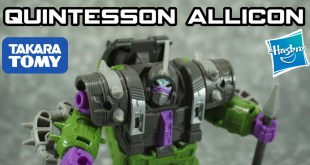 Hasbro / Takara Tomy Transformers Earthrise Quintesson Allicon
