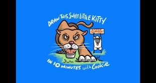 How To Draw Cartoons| Puma Cartoon| #cookiecartoonery #besttshirtartist #cartoonartist