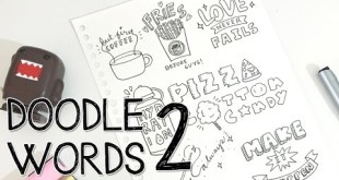How to turn WORDS into DOODLES! | Doodle Words 2