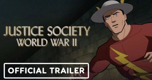 Justice Society: World War II -  Exclusive Official Trailer (2021) Stana Katic, Matt Bomer