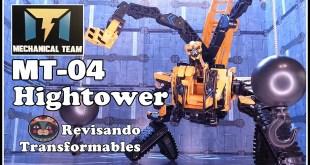 Mechanical Team MT-04 Hightower KO Oversized SS -47 Combiner Transformers ROTF Devastator