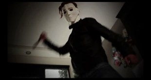 Michael Myers NO BUDGET Amateur Killing Scene (Halloween Cheap Horror Fan Sketch)