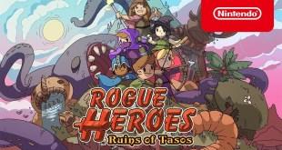 Rogue Heroes: Ruins of Tasos - Launch Trailer - Nintendo Switch