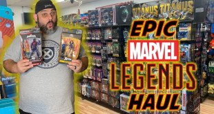 Toy Hunting, Epic Marvel Legends Haul, & Hot Toys