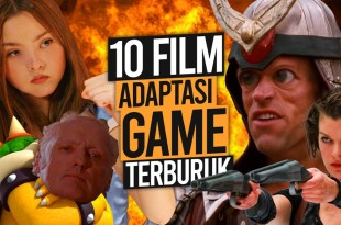 10 FILM Adaptasi Game Terburuk Sepanjang Masa