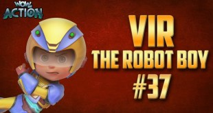 Vir: The Robot Boy | Hindi Cartoon Compilation For Kids | Compilation 37 | WowKidz Action