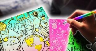 DIY DOODLE NOTEBOOKS!! | Back To School 2017 (Tips & Tricks)