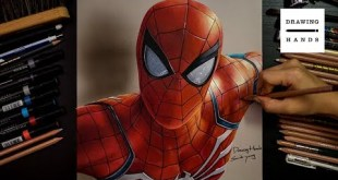 Drawing Marvel Spider-man [Drawing Hands]