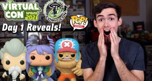 ECCC 2021 Funko Pop Reveals Day 1! | Nejire Hado Mha | Buffed Chopper One Piece | Jackie Chun