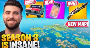 EVERYTHING Epic DIDN'T Tell You In The SEASON 3 Update! (NEW MAP, Cars + MORE) - Fortnite