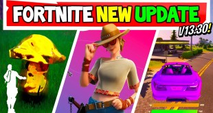 Fortnite Update: V13.30 CARS! | RENEGADE, Twitch Prime pack 3?! (Xbox, PC, PS5)
