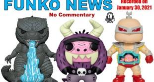 Funko News (No Commentary) - January 30, 2021