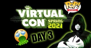 Funko Virtual Con Spring 2021 Exclusive Pop Reveals - Day 3 (ECCC)