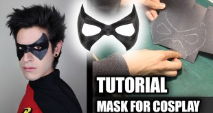 How to Make Superhero MASK for Cosplay - VERY EASY AND CHEAP