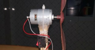 How to make a high speed Fan with DC Motor?