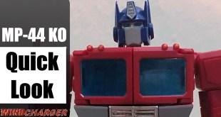 MP-44 KO Transformers Masterpiece Optimus Prime KO Review