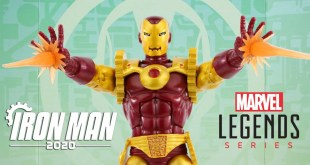 Marvel Legends HOMEM DE FERRO 2020 exclusivo - action figure review / Toys e Travels