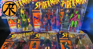 Marvel Legends Spider-man Retro Wave Action Figures Showcase