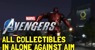 Marvel's Avengers All Collectibles & Chests In Alone Against AIM