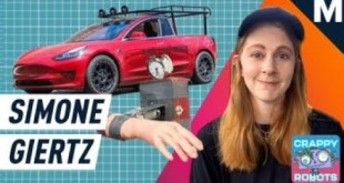 Simone Giertz Used to Make Useless Inventions, Then She Made A Cybertruck Before Tesla | Mashable