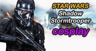 Star Wars Cosplay: Shadow Stormtrooper