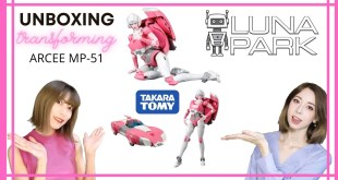 Takara Tomy Transformers Masterpiece MP-51 Arcee unboxing review