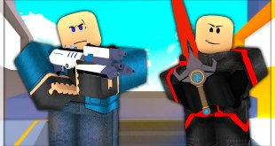 TanqR Plays The NEW Sci-Fi Update (Roblox Arsenal)