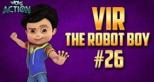 Vir: The Robot Boy | Hindi Cartoon Compilation For Kids | Compilation 26 | WowKidz Action