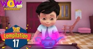 Vir the robot boy | Malayalam Cartoon | Compilation 17 | Malayalam Moral Stories |Malayalam Story