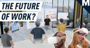 We Worked in a VR Office For a Few Months and Didn't Totally Hate It | Mashable