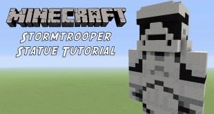 Minecraft Statue Tutorial: Stormtrooper (Star Wars The Force Awakens)