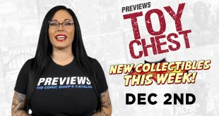 THE LAST AIRBENDER, BATMAN HOLIDAY, TRANSFORMERS: PREVIEWSworld ToyChest 12/2/20