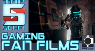 THE TOP 5 SCI-FI GAMING FAN FILMS - Metroid, Half-Life, Portal and more